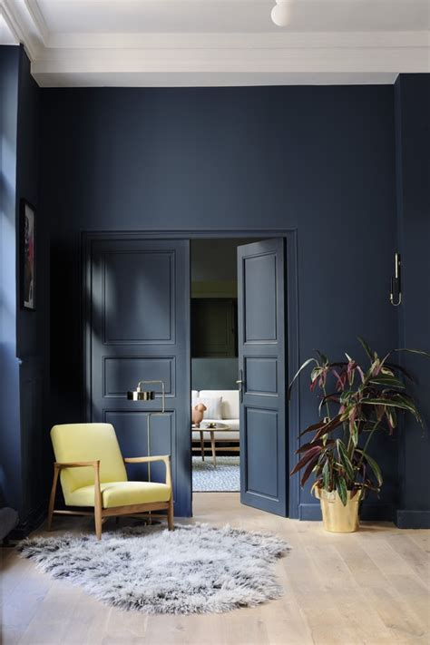 navy blue interior paint back to classic how to get a interior design in blue