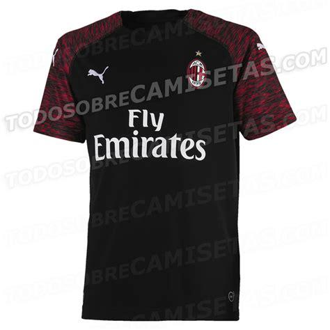 Ac Milan 19 ac milan 2018 19 third kit leaked todo sobre camisetas