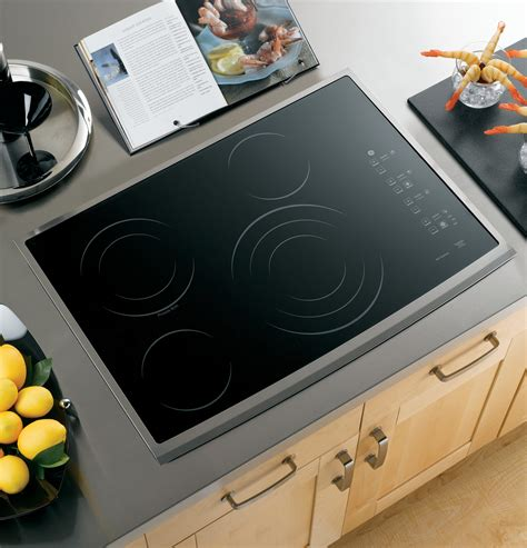 Ge 30 Inch Induction Cooktop Ge Profile Series 30 Quot Built In Electric Cooktop