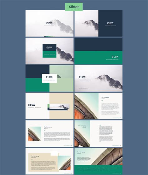 100 powerpoint slide template powerpoint template