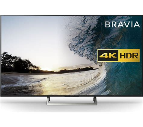 Tv Ultra Hd 4k buy sony bravia kd55xe8396 55 quot smart 4k ultra hd hdr led tv free delivery currys