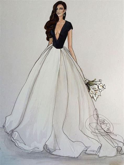 fashion illustration of gowns best 25 drawing fashion ideas on fashion design sketches fashion sketches and