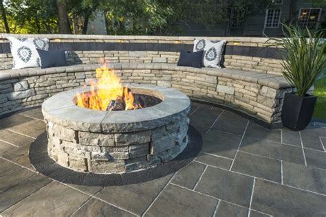 designing the ideal fire pit area for your hartford ct