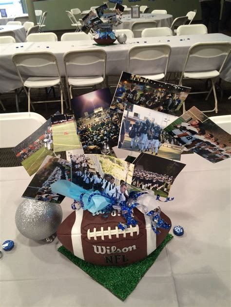 football banquet centerpieces football centerpiece banquet ideas best