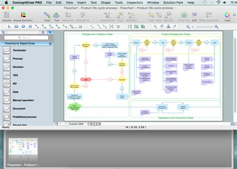 process chart software visio building shapes free using a gantt chart