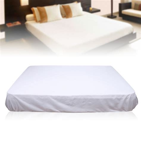 are polyester sheets comfortable pure white mattress cover protector polyester soft
