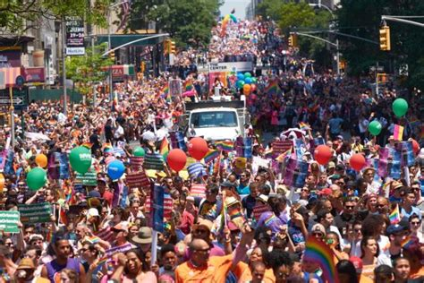 gay section of nyc orlando victims on minds of nyc pride marchers ny daily news