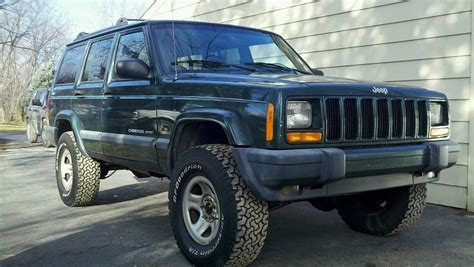 jeep xj stock bumper fs greatlakes 2000 xj stock bumpers forest green