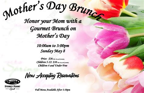 s day 2016 s day brunch stoney point grill