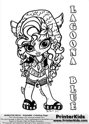 chibi monster high coloring pages download and print for free 98 best images about monster high color pages on pinterest