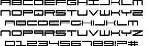Porsche 911 Font 911 Porscha Schriftart Zum Kostenlosen