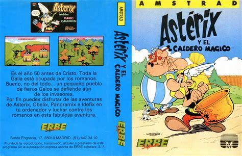 asterix y el caldero asterix and the cauldron libro de texto para leer en linea cpcrulez gt amstrad cpc gt gameslist gt asterix and the magic cauldron c melbourne house