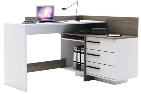 bureau thales bureau d angle thales 224 3 tiroirs blanc d 233 cor ch 234 ne