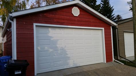 Garage Builder Calgary by Detached Garage Construction Calgary Abby Renovations
