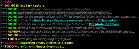 emacs workflow defining custom task workflows with emacs org mode jr0cket
