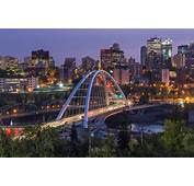 New Walterdale Bridge Edmonton  Press Reported The First