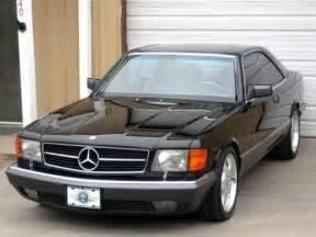 1989 Mercedes 560 Sec Proportions 1989 Mercedes 560sec Bring A