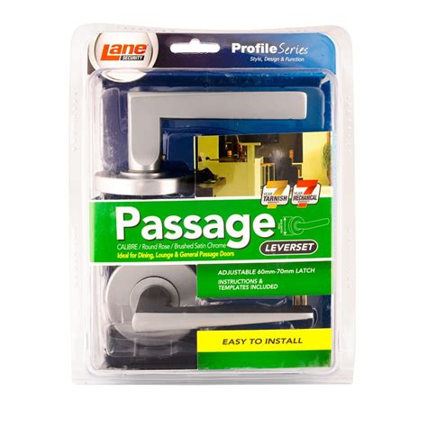 bunnings security security 65mm brushed