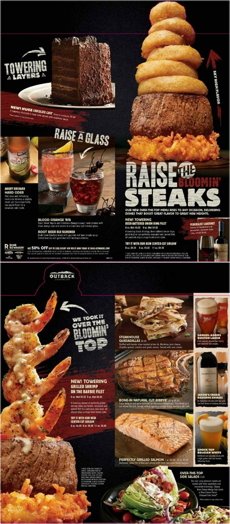 outback valentines special outback steakhouse specials