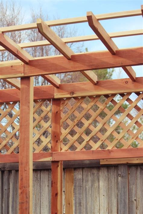 building trellises how to build a grape arbor step by step