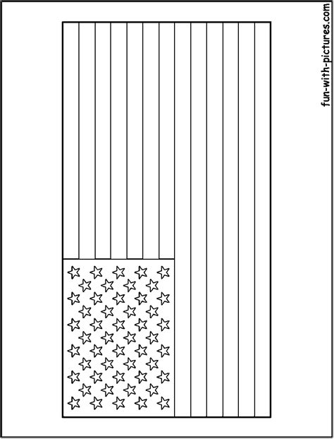 coloring page for united states flag united states flag coloring page