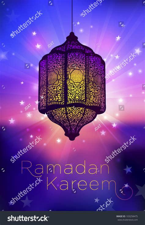 ramadan card templates greeting card template ramadan kareem stock vector