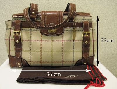 Coach Htons Suede Plaid Carryall by Luxury Bags For Less Coach Htons Suede Plaid