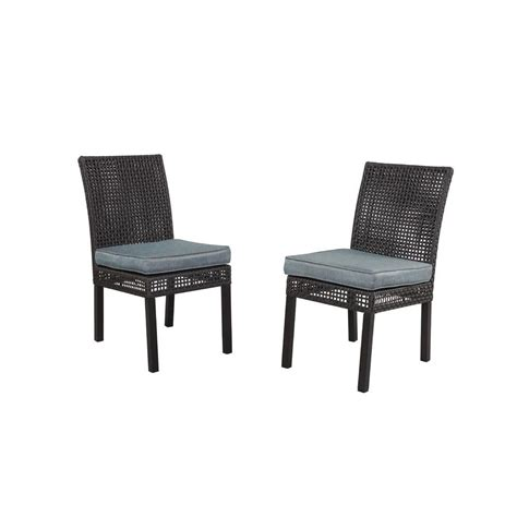 Hampton Bay Patio Chairs by Hampton Bay Niles Park Sling Patio Dining Chairs 2 Pack