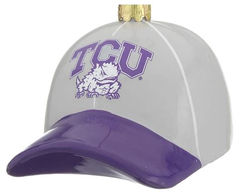 texas christian christmas ornament college and university