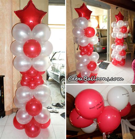 Wedding Anniversary Balloons by Wedding Cebu Balloons And Supplies