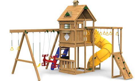 menards wooden swing sets playstar inc