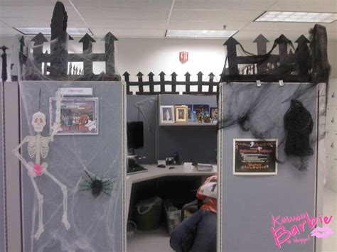 halloween themes for the office cubicle halloween work ideas pinterest cubicle