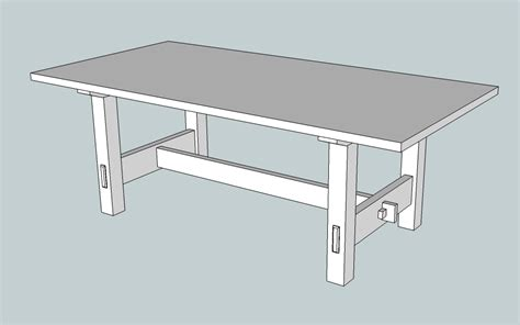 Dining Room Table Plans Pdf Woodwork Trestle Dining Room Table Plans Pdf Plans