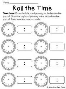 Teaching Telling Time Worksheets