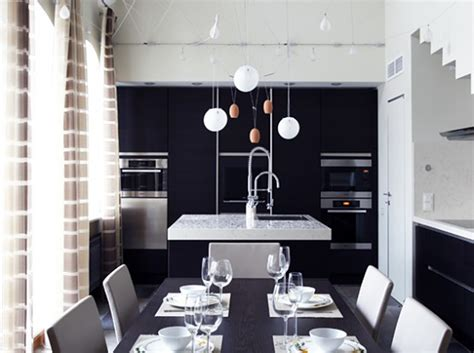 Black And White Dining Room Ideas Black And White Dining Room Decor Iroonie