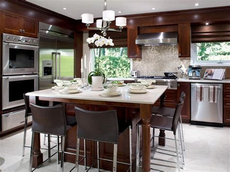kitchen island decor european kitchen design pictures ideas tips from hgtv hgtv