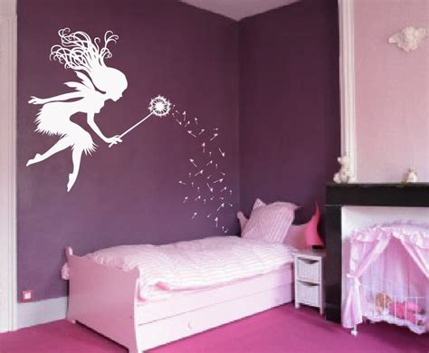 Butterfly Wall Stickers For Kids Rooms fairy dandelion wand wall decal nursery kids room tale
