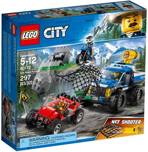 Lego City Wall Stickers lego city 60172 dirt road pursuit official images brick
