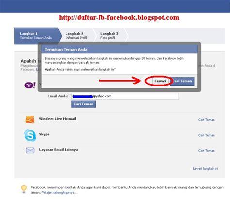 cara membuat email baru buat facebook daftar facebook baru cara buat fb dengan email yahoo