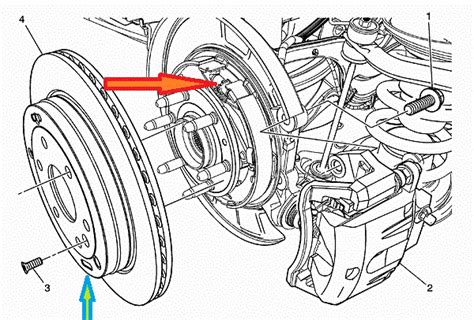 Service Brake System On 2007 Chevy Equinox Chevrolet Chevy Traverse Awd How Do I Get The Rear Rotors