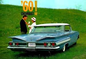 1960s Chevrolet Cars 1960 Chevrolet Brochure