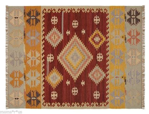 pottery barn indoor outdoor rug pottery barn dunham kilim indoor outdoor rug 8x10 8 x 10 sealed new