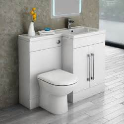 valencia 1100 combination basin wc unit with