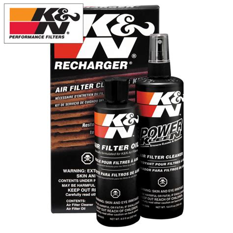 Kn Cleaning Kit k n recharger air filter cleaning kit complete auto