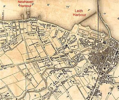 How To Draw A Map leith map 1840