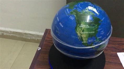 Globe Part 2 by Led Adjustment Magnetic Levitation Floating Globe Ufo