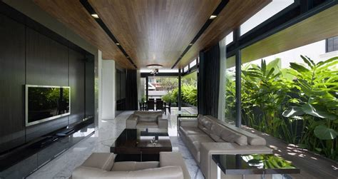 Tropical Modern Living Room Design Modern Tropical Living Room Design Ideas With Paint