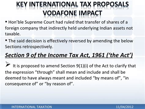 section 41 of income tax international taxation ds vivek