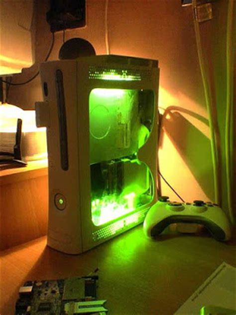 modded xbox 360 console technoentertainment cool modded console cases