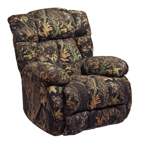 camouflage recliners cheap laredo mossy oak camo rocker recliner from catnapper